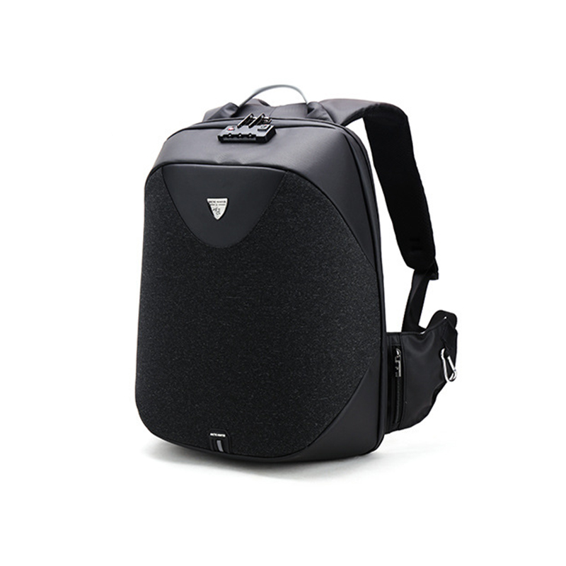 ARCTIC HUNTER Men Backpack Multi-function USB charge 15inch Laptop Backpack Fashion Male Mochila Leisure Travel backpack arctic hunter design 15 6 laptop backpacks men password lock backpack waterproof bag casual business travel backpack male b00208