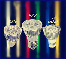 4w wholesale magic led light bulb ceiling lamp 220v red/green/blue/RGB mr16 e27 gu10 GU5.3 LED spotlight(China)