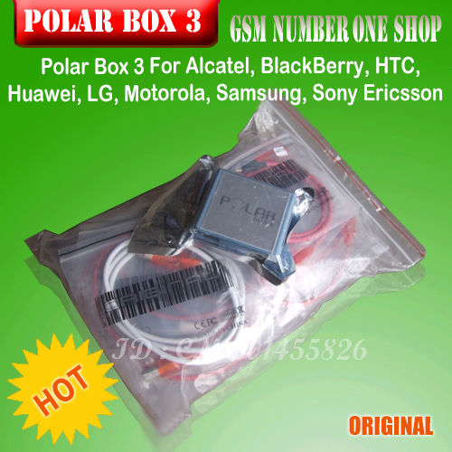 2016 Latst Polar Box 3 Full Activation With 35 Cables repair unlock For Samsung&LG&HTC&BB& Alcatel etc+ Free Shipping