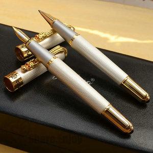 Image 2 - JINHAO 1000 สีขาว ROLLER ปากกาและปากกาชุดปากกา FOUNTAIN กับกล่องต้นฉบับ