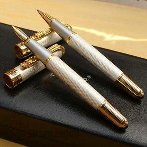 Image 2 - JINHAO 1000 بكرة قلم أبيض ومجموعة قلم حبر مع صندوق أصلي