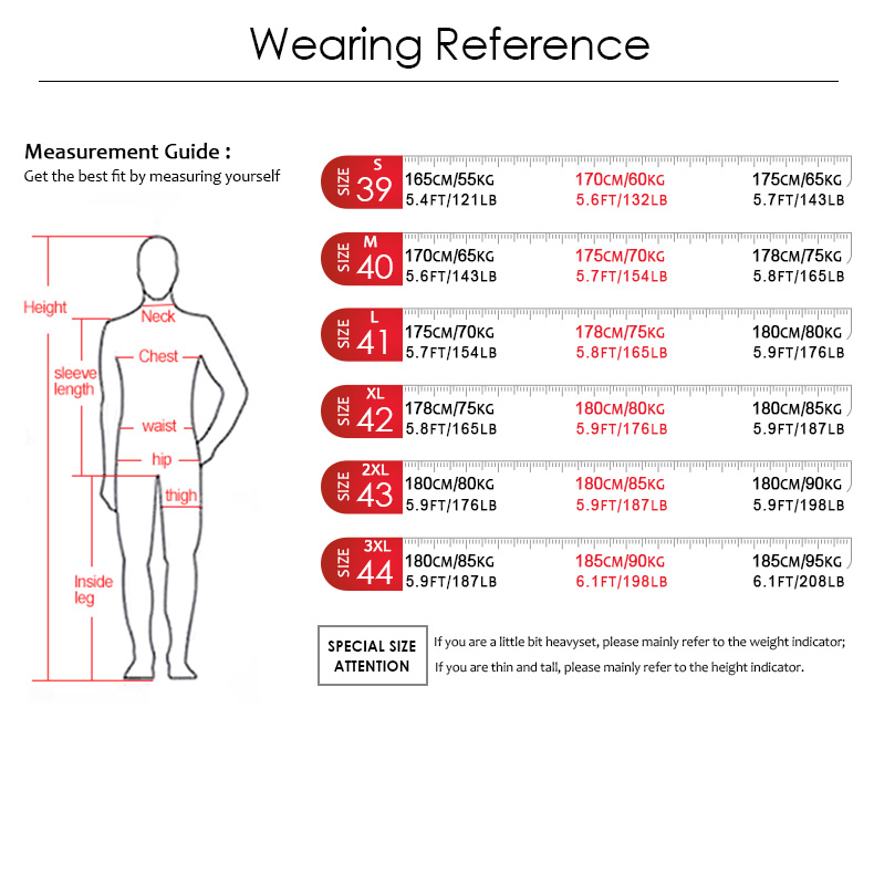 wearing reference