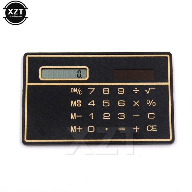 High Quality Cheap Solar Power Pocket Calculator Novelty Small