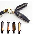Мерцающие светодиодные сигнальные огни для мотоцикла  мигающие мигалки для Honda cb190r shadow 750 benelli trk 502 vespa
