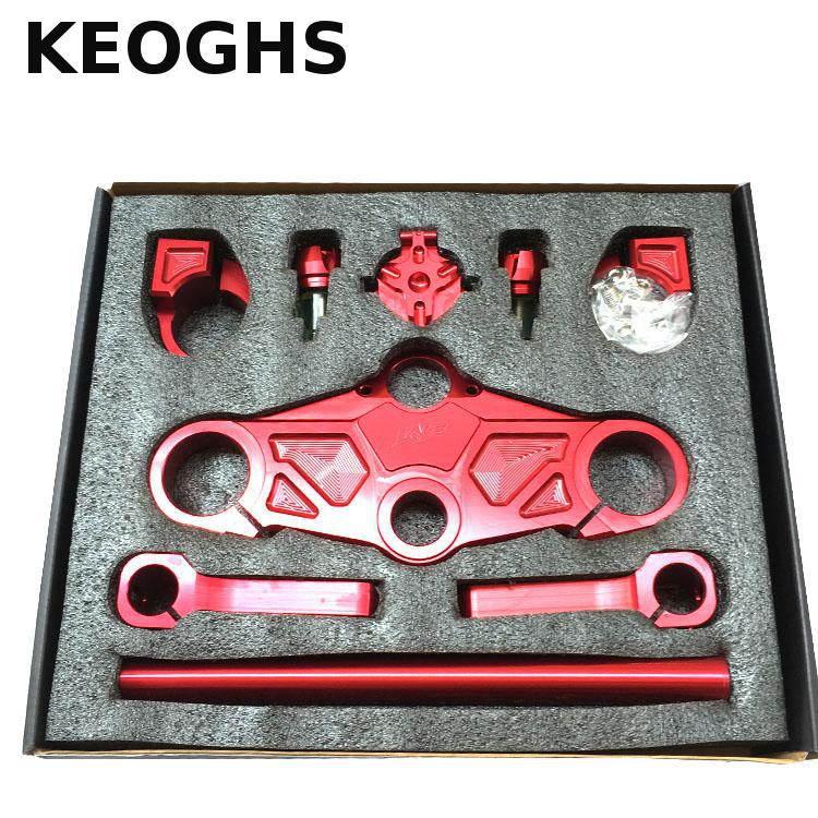 Keoghs Motorcycle Handlebar Cnc Aluminum Alloy For Honda Msx125 For Monkey Motorbike Modify - 2