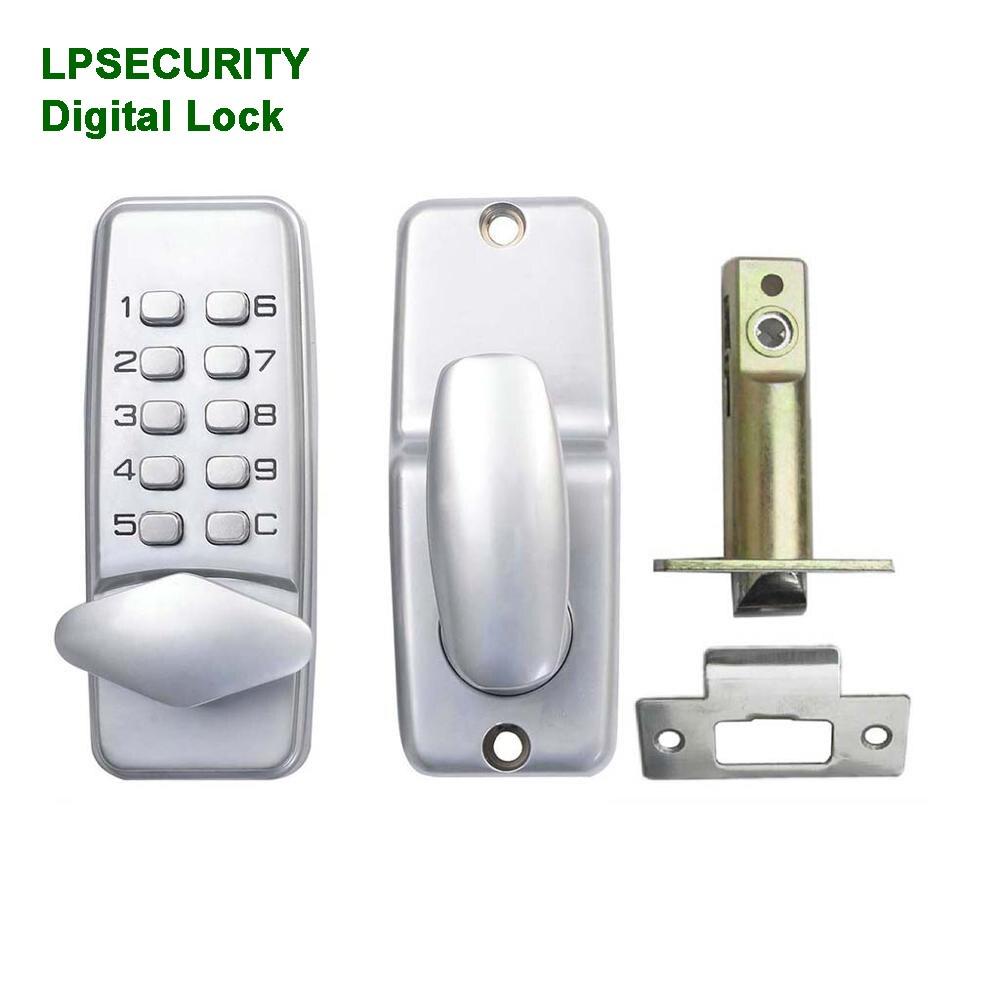 Mini Digital Lock Keyless Electric Door Lock Password/Code/Keypad Electronic House/wood/Garage/garden/office Door Opener Gate