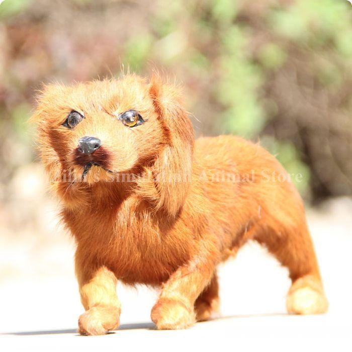 Miniatur dackel hund spielzeug heimtextilien requisiten