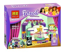 Bela 10155 Friends Stephanie's Rehearsal Stage Minifigures Building Block Minifigure Toys Best Toys Compatible with Legoe