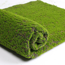 100cm Simulation green plant wall moss turf simulation lawn scene window display fake Artificial