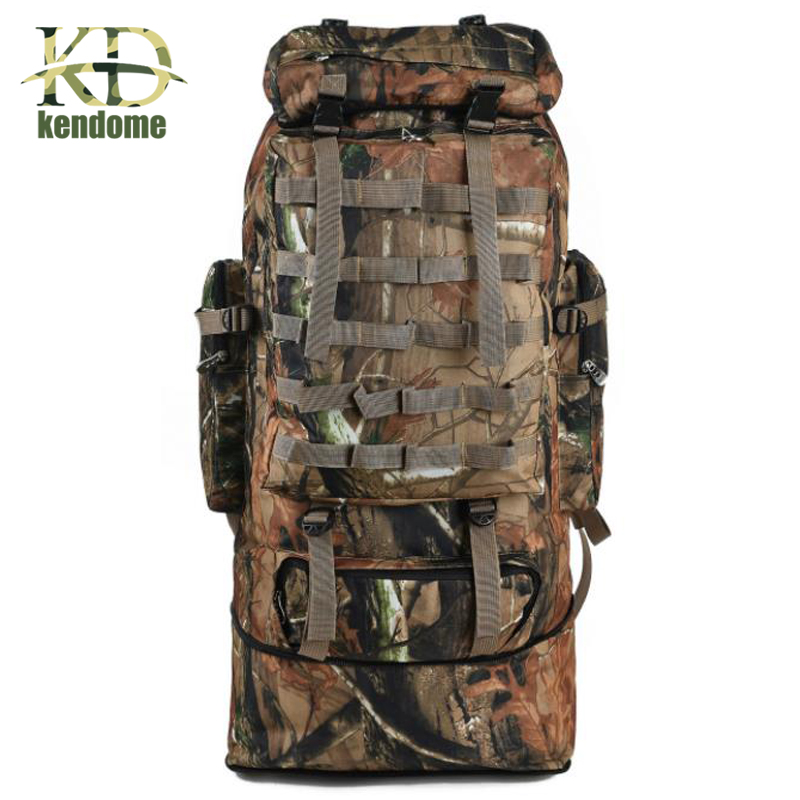 Outdoor 100L Large Capacity Mountaineering Backpack Camping Hiking Military Molle Camo Water-repellent Tactical Bag Adjustable 70l outdoor mountaineering bag large capacity tactical bag military backpack camouflage molle backpack hunting camping rucksack