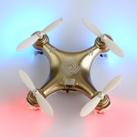CX 10A Mini Remote Control Helicopter Plane 6 Axis Rc Quadcopter W Led Light Aircraft RTF