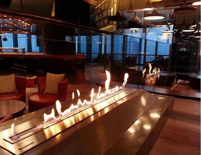 On Sale 72 Inch Fireplace Bioethanol Wifi/remote Control