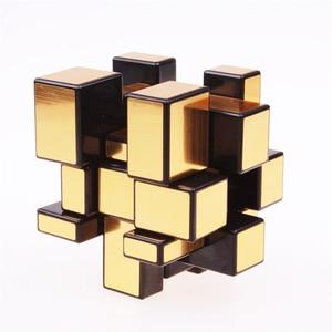 Image 4 - 3x3x3 Magic Mirror Cubes Cast Coated Puzzle  Professional Speed Magic Cube  Magic Education Toys For Children