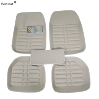 Flash mat Universal car floor mats for Daewoo Matiz Nexia Tosca Kalos Evanda Magnus REXTON seat covers accessories