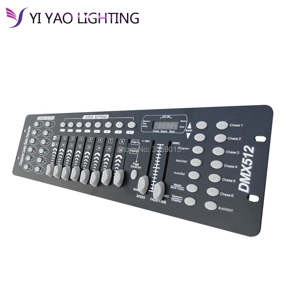 192 DMX Controller DJ Equipment DMX 512 Console Stage Lighting For LED Par