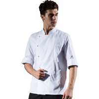 Aprons Western Restaurant Hotel Kitchen Chef Costume Clothes Male Chef Overalls Apron