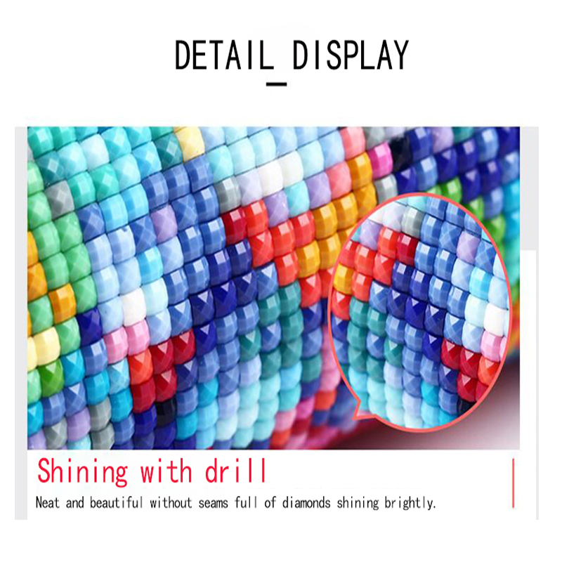 DIY 5D Diamond Painting Kit Full Diamond Embroidery Fantasy Sky Cross Stitch Arts Home Wall Decor 12X16 inches in Diamond Painting Cross Stitch from Home Garden