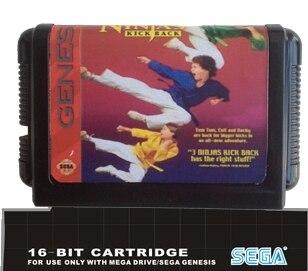 3 Ninjas Kick Back - 16 bit MD Games Cartridge For MegaDrive Genesis console