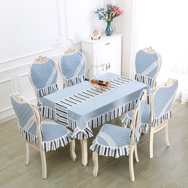 Dining Room Tablecloths: 13pcs/set Modern Style Table Cloth For Kitchen Dining Room