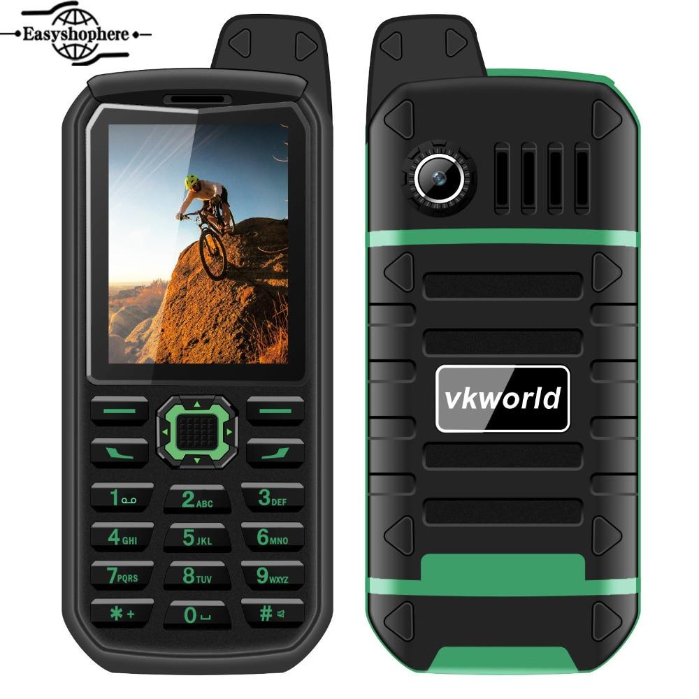 Vkworld Stone V3 Plus IP54 Waterproof Phone 2 4 Inch 4000mAh Big Battery Dust proof Anti