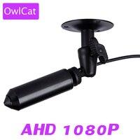 OwlCat Mini Bullet Full HD AHD Camera 1080P 2MP Analog High Definition Video Surveillance CCTV Camera