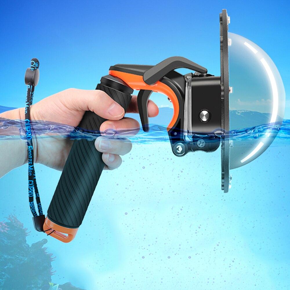 Dôme pour Gopro Hero 7 6 5 Noir Action Caméra Avec Boîtier Étanche Go Pro 7 6 5 Lentille Dôme port pour Aller Pro Accessoire