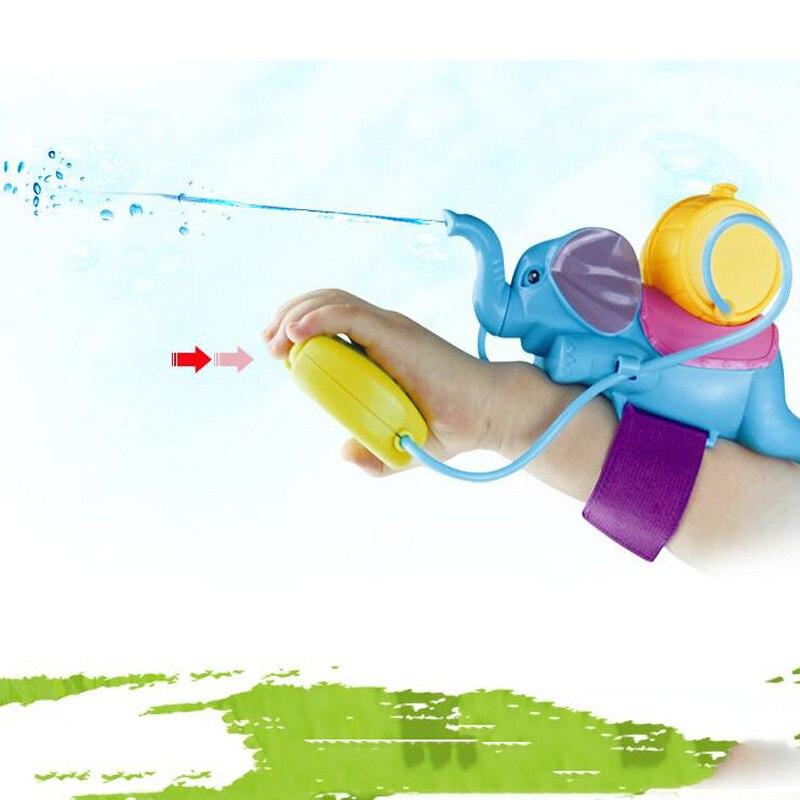 Children's Animal Toys Water Spray Elephant Play Water Children's Toys Summer Water Hammer Wrist Water Gun Parent-Child Game Toy