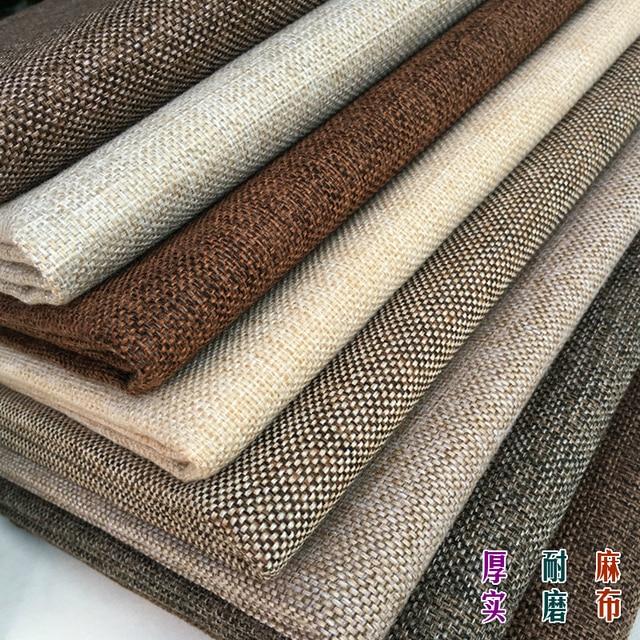 d7e07c5385252e Sofa qualität verdickung leinen tuch einfarbig plain stoff flüssigkeit kissen  kissen stoff weiche tasche diy