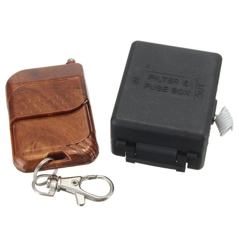 New Arrival DC 12V 10A Relay 1CH Wireless RF Remote Control Switch Transmitter Receiver Working Modes Self-locking Favorable ada 6d servoliner а00139