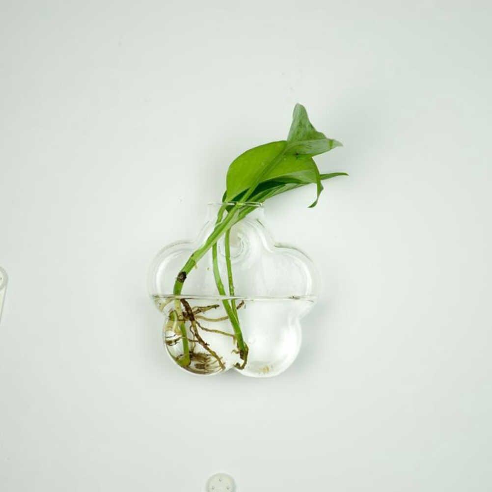 6 Bentuk DIY Batal Hanging Kaca Vas Bunga Tanaman Terarium Kontainer Vas Lanskap Mikro Dekorasi Pernikahan