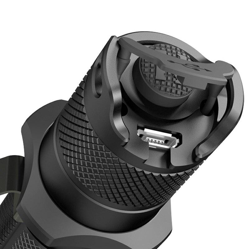 Бесплатная доставка NITECORE MH12GTS USB Перезаряжаемый тактический фонарь CREE XPP35 HD светодиодный уличный поисковый фонарь без аккумулятора 18650 - 6