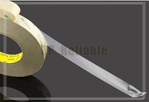 10x 5mm *55M*0.12mm 3M Double Sided 200MP 9495MP Tape for LCD Display, LED Strip PCB Bond, High Temp. Resist, Waterproof