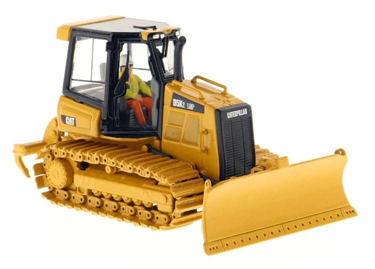 DM 1:50 CAT D5K2 LGP Caterpillar Crawler Dozer Model 85281 Alloy engineering vehicle model Collection model Tin packaging