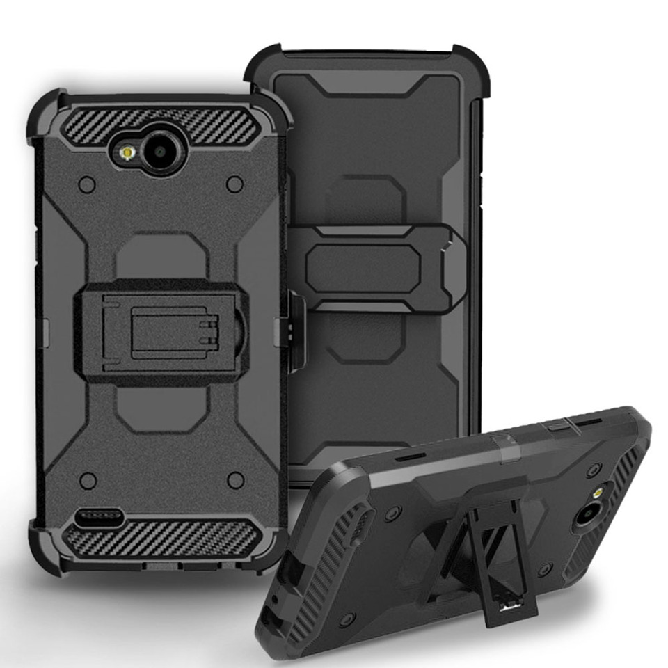 Hybrid Armor Case Shockproof Belt Clip Holster Cover For Lg Xpower 2 Lv7 K10 Power X Charge Fiesta Lte Fiesta 2 L64vl L63bl Cover For Lg Cover Forbelt Clip Aliexpress