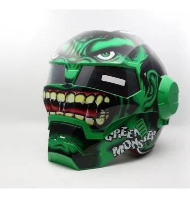 Masei 610 Hulk Star Wars Hommes femmes IRONMAN Iron Man casque de moto casque demi casque open face casque casque motocross