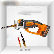 WG894E  Cordless reciprocating saw 20V Lithium-Ion Handy Saw with 2 Ah Powershare Battery platform