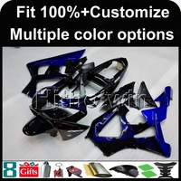 23colors+8Gifts Injection mold blue flames n motorcycle cowl for HONDA CBR929RR 2000-2001 CBR929RR 00 01 ABS Plastic Fairing