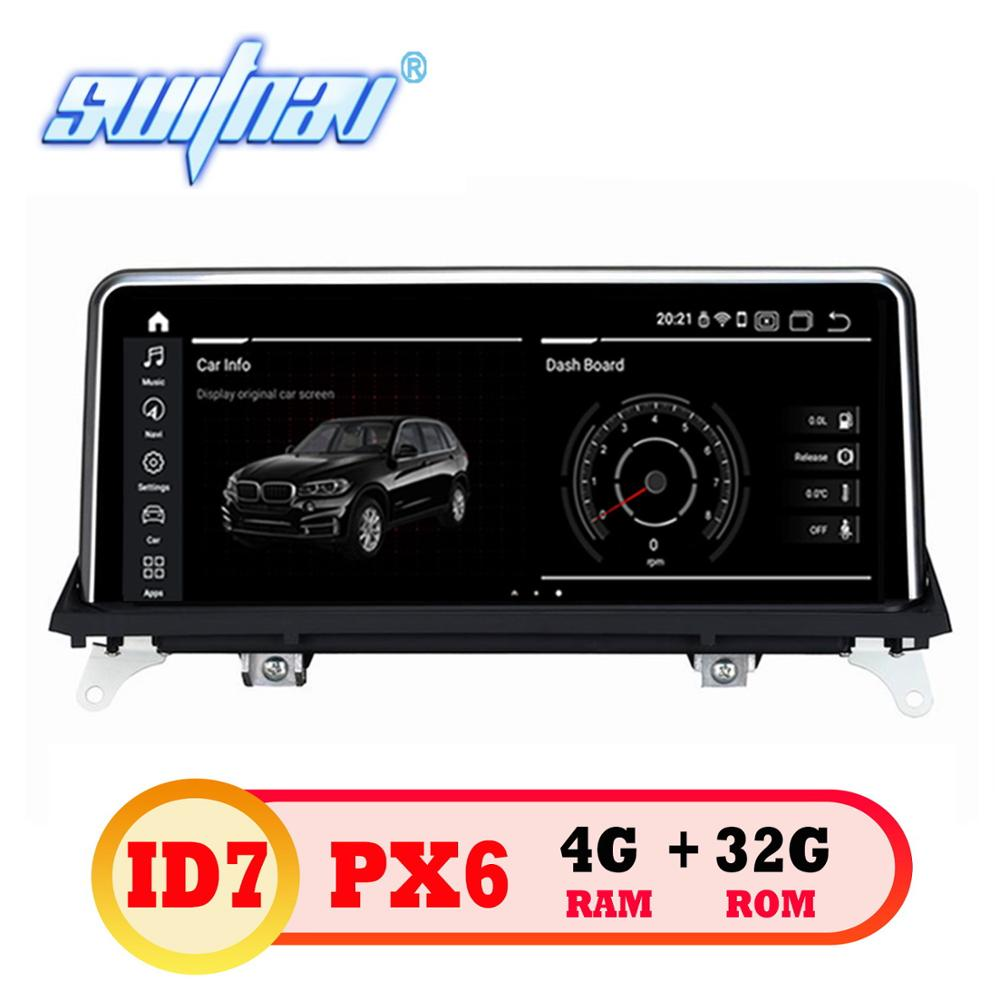 Android 9 0 ID7 6 core CAR DVD FOR BMW X5 E70 X6 E71 CCC CIC