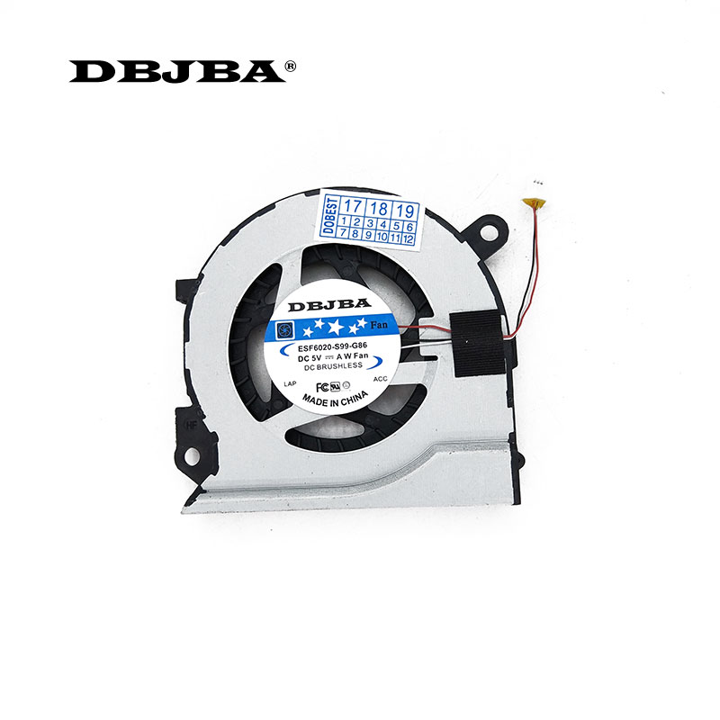 Ordinateur portable CPU Ventilateur De Refroidissement Pour Samsung NP 530U4B 530U4C 535U4C 520U4C NP520U4C KSB05105HA BK1X BA31-00124B Ventilateur