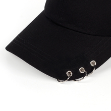 BTS Adjustable Iron Ring Baseball Cap
