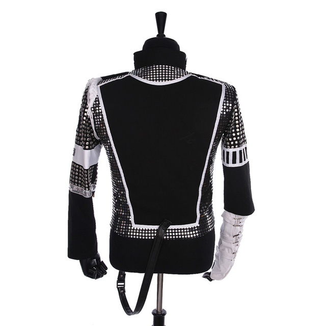 Punk MJ Michael Jackson Germany Military Cool Gaorgeous Teaser Jacket Outerwear for Collection Halloween costume Gift
