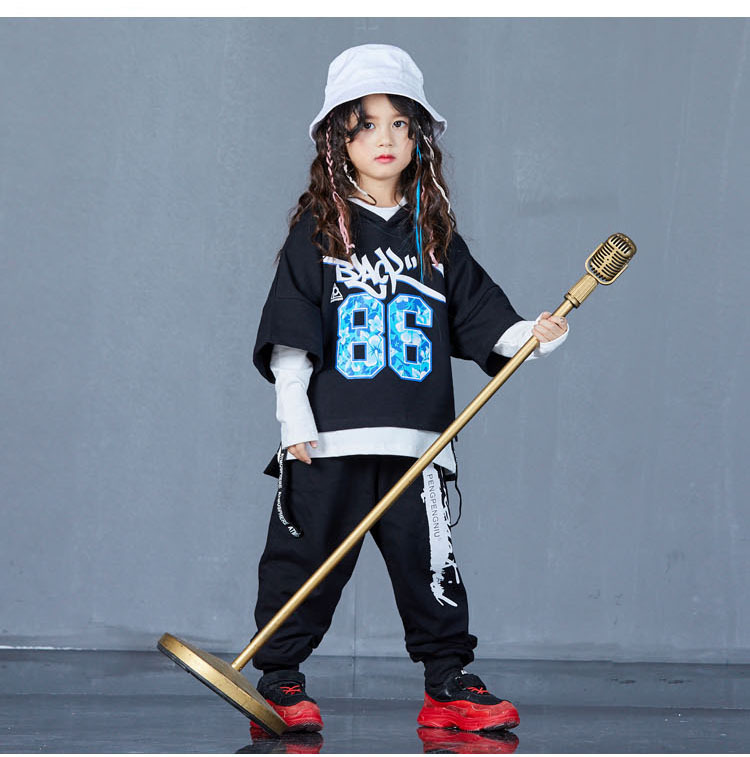 boys hip hop clothing set 1073-13