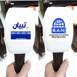 Image 5 - linhuipad white microphone covers print logo mic windscreens customized Winds Handheld microphone sponge for outdoor interview