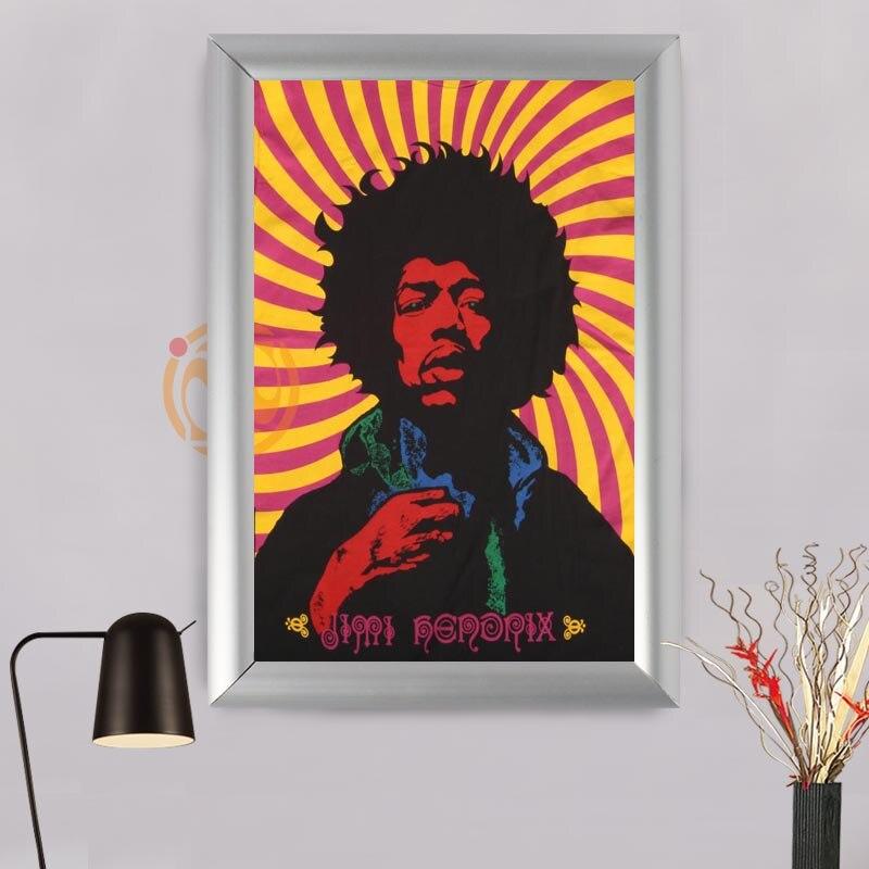Aliexpress.com : Buy Jimi Hendrix Custom Frame Painting Canvas ...