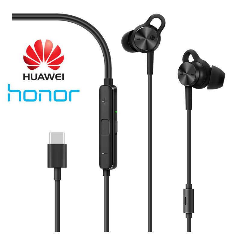 HUAWEI CM-Q3 Kulaklık Aktif Gürültü Azaltma Kulaklık 3 USB C Tipi Konnektör Hibrid Kulaklık P20 Pro Mate 10 Pro p10 Telefonları
