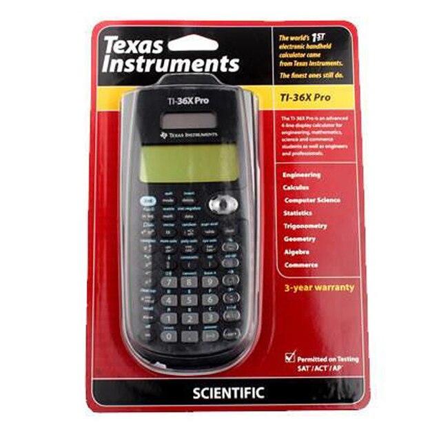 9ed9d1aaca6 2018 Texas Instruments Novo Original Ti-36x Pro Calculadora Calculadora  Científica Calculadora Venda Quente Gráfico