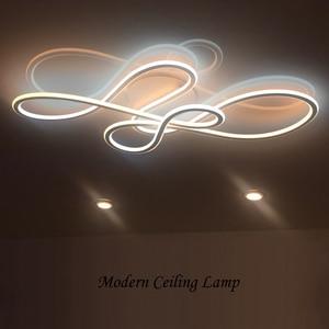 Image 2 - Neo Gleam Đôi Phát Sáng Đèn LED Hiện Đại Đèn Led Trần Cho Phòng Khách Phòng Ngủ Lamparas De Techo Mờ Đèn Ốp Trần Đèn Gắn Xe Đạp