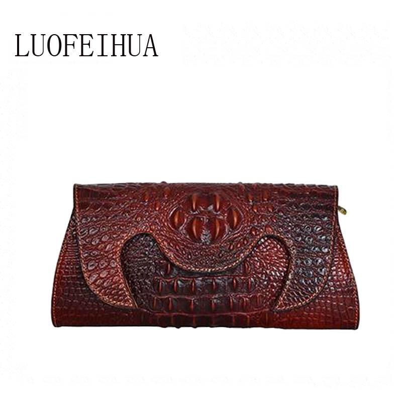 Luxury clutch 2019 new luxury crocodile shoulder bag brand bag handbag designer bag Banquet packetLuxury clutch 2019 new luxury crocodile shoulder bag brand bag handbag designer bag Banquet packet