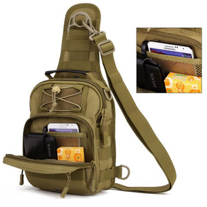 Image 5 - Norbinus 2018 Mens Shoulder Handbag Military Chest Bag Sling Pack Tactical Crossbody Bags for Men Waterproof Nylon Belt Bags