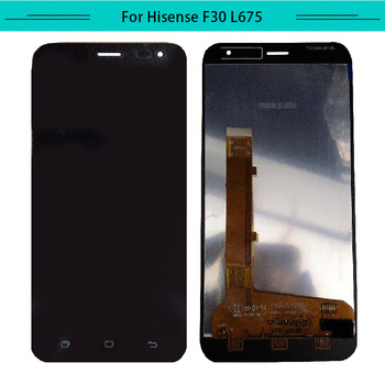 100% Tested 3pcs/lot full LCD For Hisense Infinity Lite S L675 LCD+Touch Screen Assembly Digitizer Free shipping